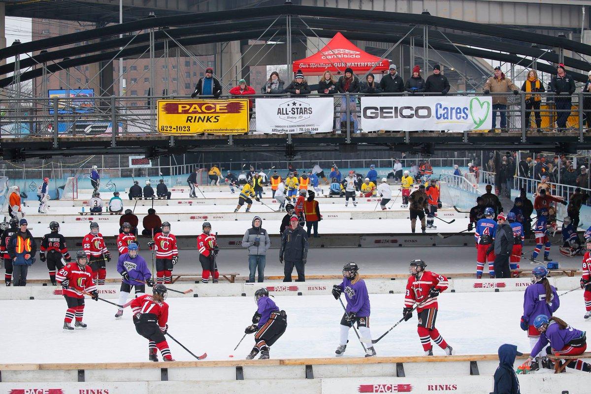 The Buffalo News On Twitter The Backyard Classic Hockey Tournament