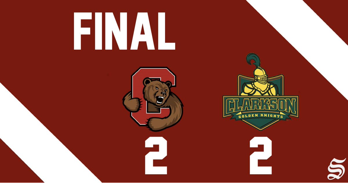 Cornell hockey shares Cleary Cup after tie at Clarkson