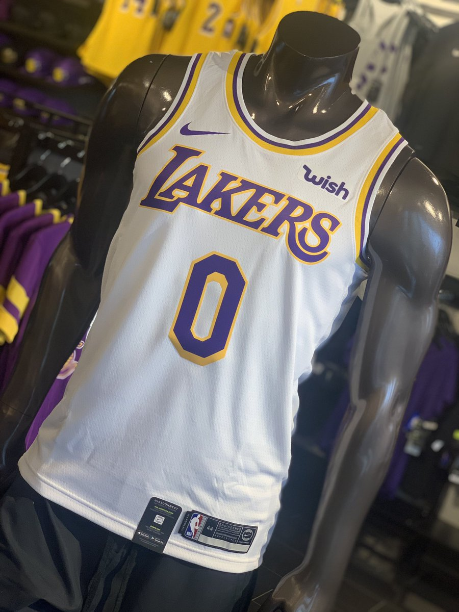 aac8b2963715 Kyle Kuzma Association swingman jerseys now available in store!!pic.twitter.com ETwfkmvIV5  – at Los Angeles Lakers Team Shop
