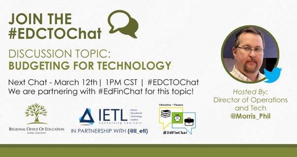 EdFinChats hashtag on Twitter