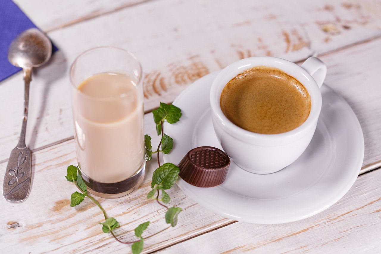 Картинка кофе с молоком