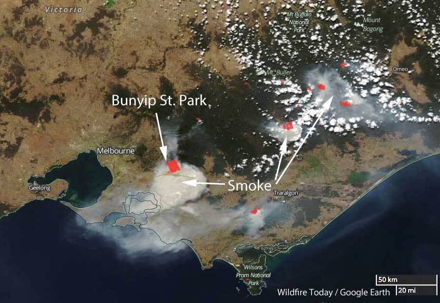 Rhea Fire Map.Wildfire Today Wildfiretoday Twitter