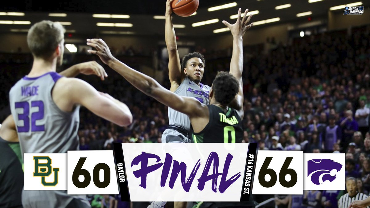 302c8b0cc915 K-State hangs on! No. 16 Kansas State takes another step closer to the Big  12 title with the W over Baylor!  EMAWpic.twitter.com Rv00IjBLtr
