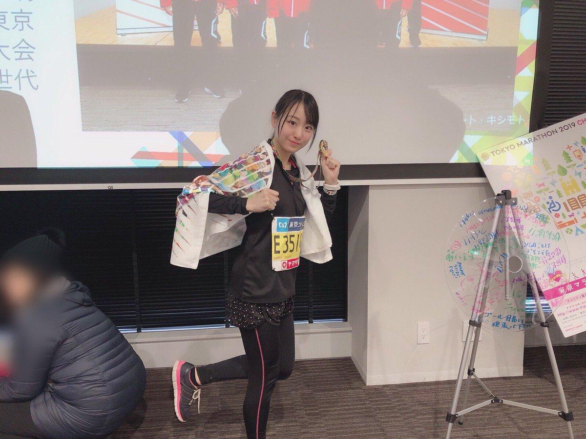 イコラブ瀧脇笙古さんが東京マラソンで好成績を残す