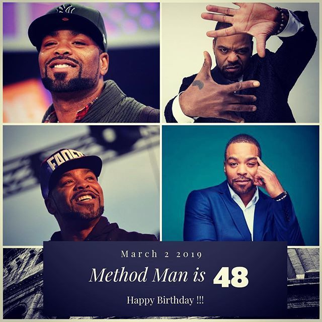 Rapper Method Man turns 48 today !!!    to wish him a happy Birthday !!!