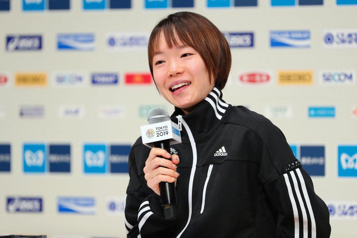 「一山麻緒 東京マラソン」の画像検索結果
