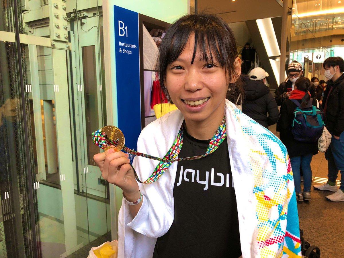 @OtonaTT #東京マラソン  #曹純玉 Chun-Yu Tsao 選手 2:36:14で台湾女子レコードを更新🎉🎉 https://t.co/iEvZpLf9tn