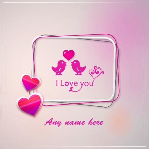 M p name love image download
