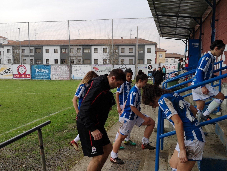 Futbolistas del Dépor ABANCA (Foto: Gijón FF).