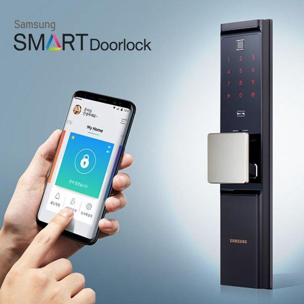 Samsung SHP DP708 WiFi Integrated #SmartDoorLock now in #UAE