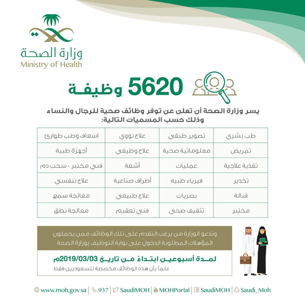 الصحة بشرى سارة للسعوديين والسعوديات