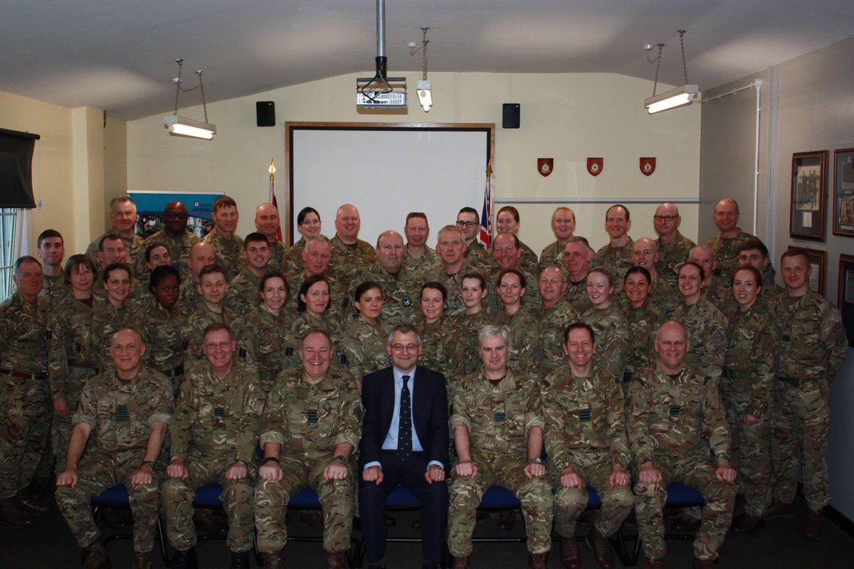 @612Sqn Official visit and March Trg weekend photo