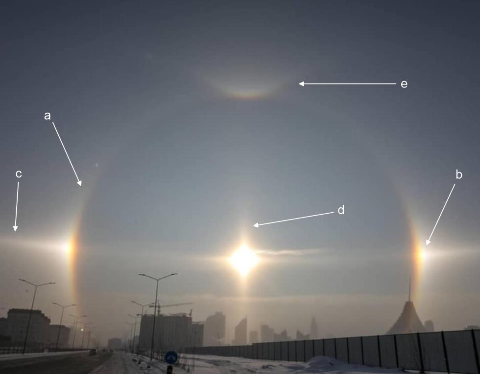 Severe Weathereu On Twitter Beautiful Solar Halo Display Over