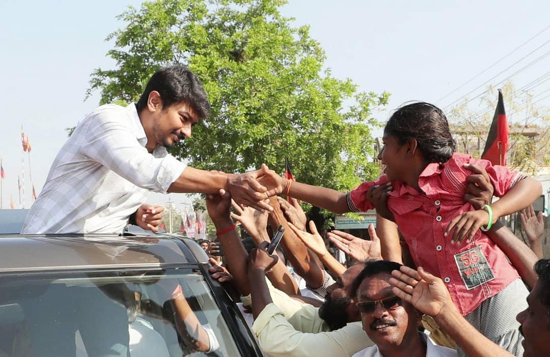 கரூரில் என்  கண்ணான  நண்பனுடன்! @Udhaystalin 🖤❤️