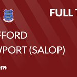 Image for the Tweet beginning: FULL TIME: Stafford 7 -