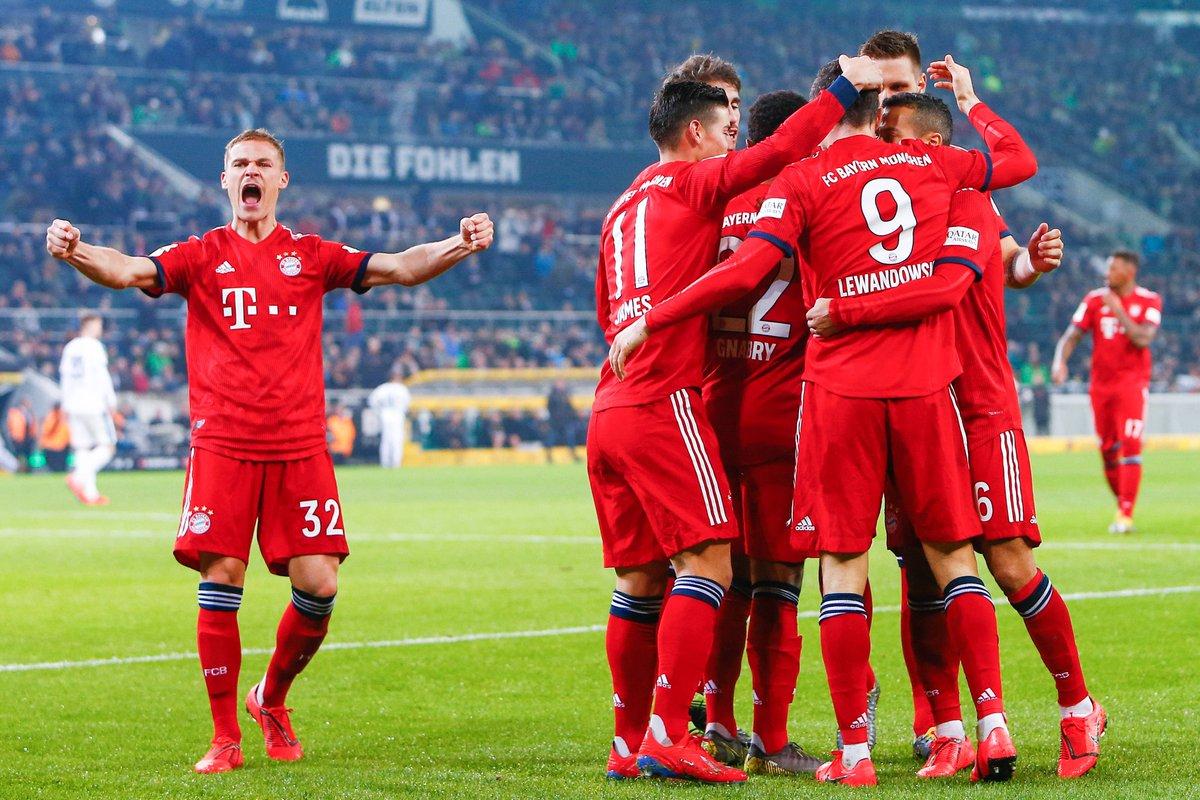 Бавария разбила Гладбах, twitter.com/fcbayern