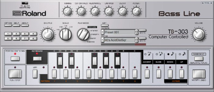 RT @macosaudio Roland Cloud reveals TB-303 plugin for 303 Day https://t.co/UUdHsVWmZu