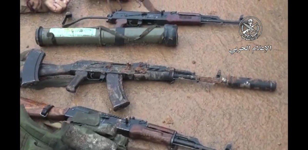 "Уничтоженная группа боевиков""Ансар-аль-Тавад"""