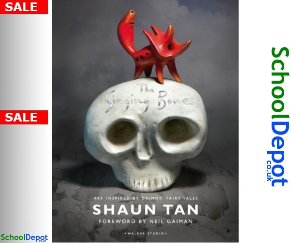 #ShaunTan https://schooldepot.co.uk/B/9781406370669  Singing Bones 9781406370669 #SingingBones #Singing_Bones #student #review