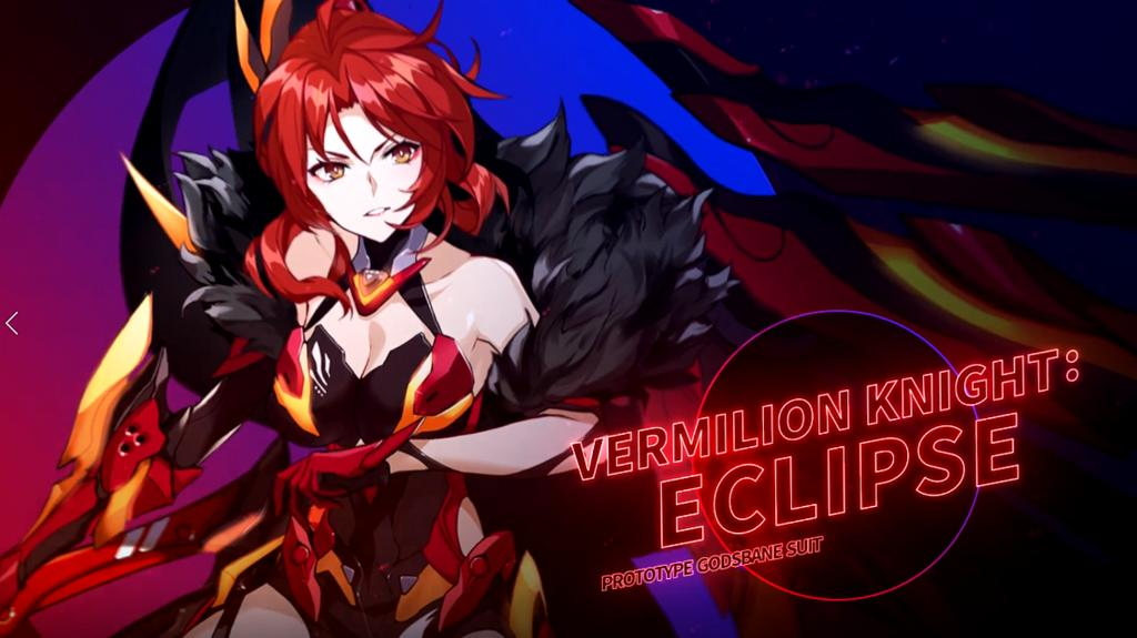 Guide】Vermilion Knight: Eclipse She raised the sword of rebellion