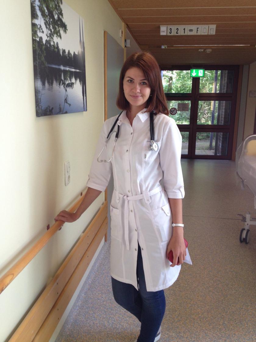 Красивые девочки медики