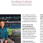 Appraisers need an eye for detail in their work, but one AI Designated Member also uses those talents during NFL games on CBS. Read the Valuation magazine interview with Michael Gluc, MAI, to learn more: https://t.co/sWLQFwG7xr
