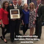Image for the Tweet beginning: 👏🏻👏🏻👏🏻 Congratulations Mike McCollum, PGA!