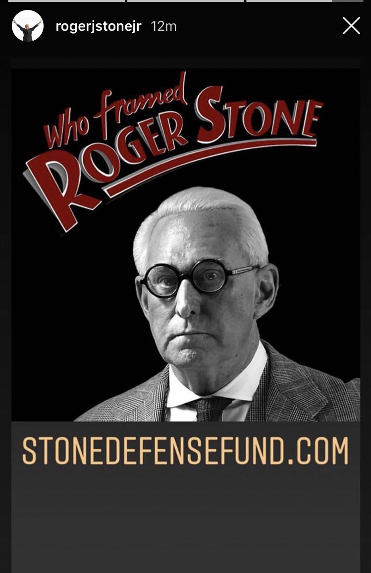 Roger Stone May Have Violated Gag Order in Sunday Instagram Post…