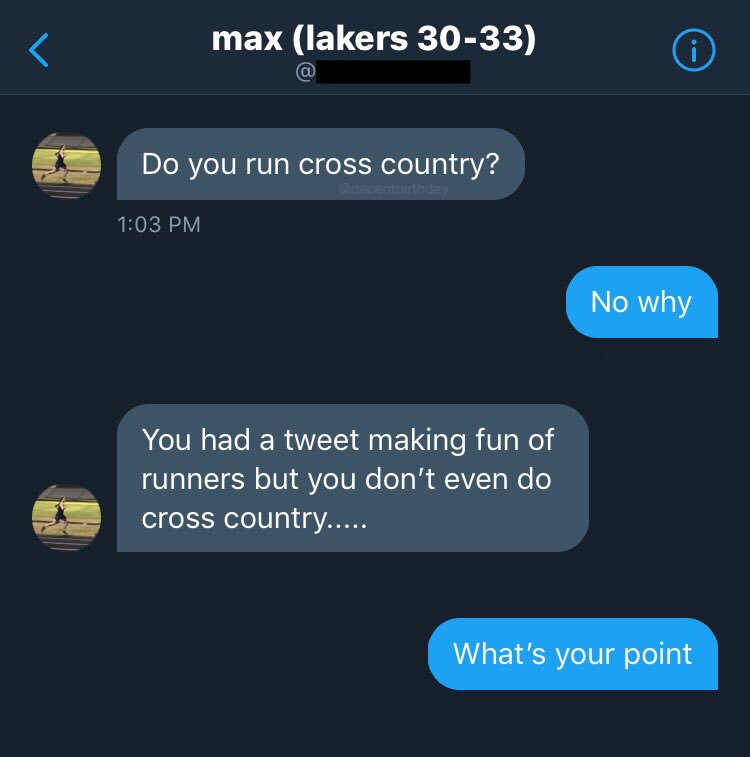 Sometimes it pays off to accept random DM requests