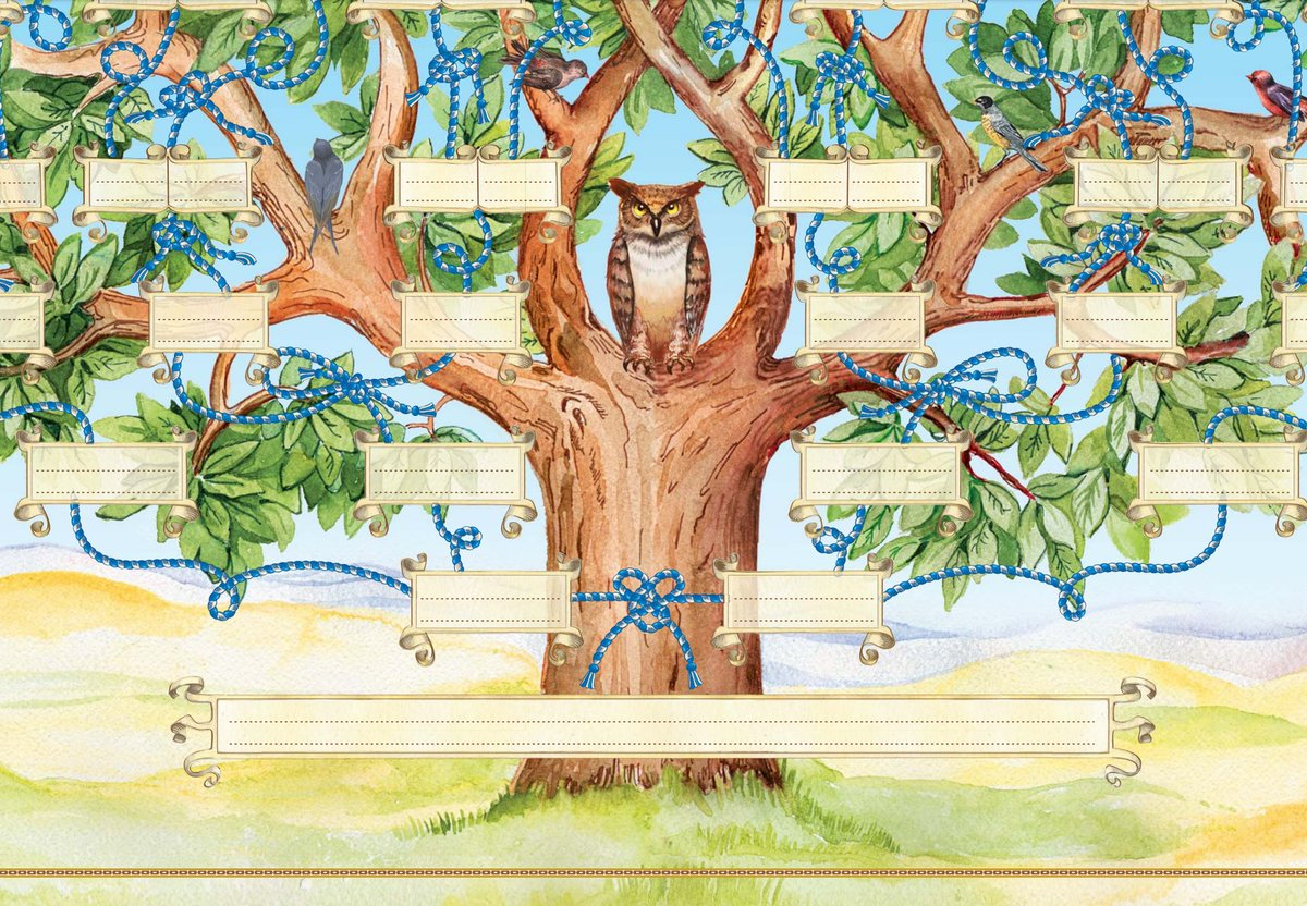 Дерево жизни картинки родов