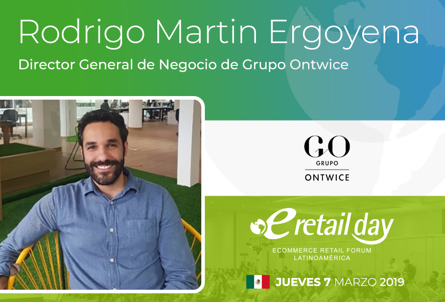 #eRetailDay 🇲🇽 México 2019 >> Retail eCommerce Funnel Tráfico: Optimización de fuentes de adquisición de clientes :: Practical #Retail >> Rodrigo Martin Ergoyena, Director General de Negocio @OntwiceLAT . ¡Adquiere tu boleto!  https://t.co/5WCSqe62WQ https://t.co/kfPftqfz8U