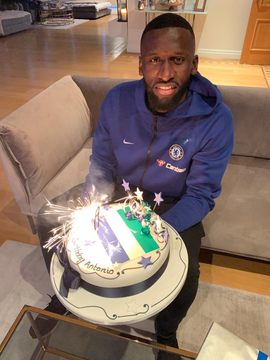 Thanks a lot for all your birthday wishes! 🎂💙 Happy I can enjoy my birthday evening with 3 points in the pocket 🙏🏾 #derbywinners #vielenDank 🇩🇪🇸🇱 #blessed #Hustle #AlwaysBelieve