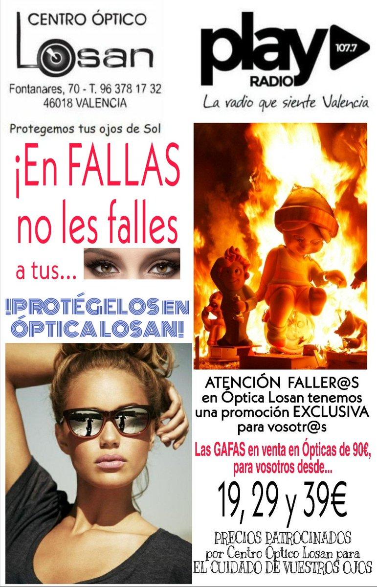 94bc2b58e9 ... #fallas #valencia #cuidamosdetusojos #gafasdesol #verbienesvivirmejor  #promocionexclusiva #optica #optometrista pic.twitter.com/ZA4rvf9ZnH