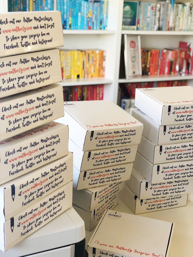 OUR MARCH AUTHORFY SURPRISE BOXES ARE HERE!!! 📚👏🏻🎉  If you want to win new BOOKS, DISPLAY MATERIAL and LEARNING RESOURCES, RT/follow by 31.03.19 and we'll randomly select 20 winners to win a box full of content from the brilliant @AndersenPress. UK only.   Good luck!