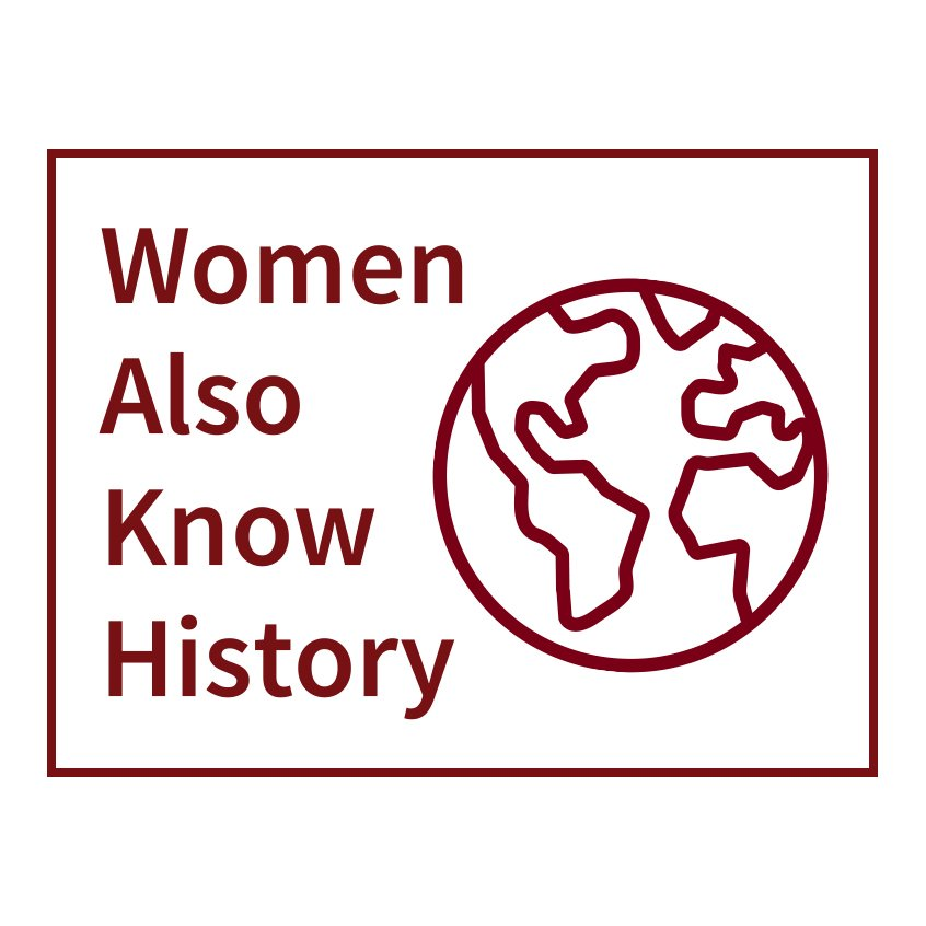"""For #WomensHistoryMonth we're tweeting daily #ScholarSpotlights. You can find them all here: ⚡️ """"#WomenAlsoKnowHistory #ScholarSpotlight"""""""