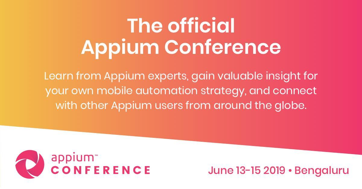 Appium Devs (@AppiumDevs)   Twitter