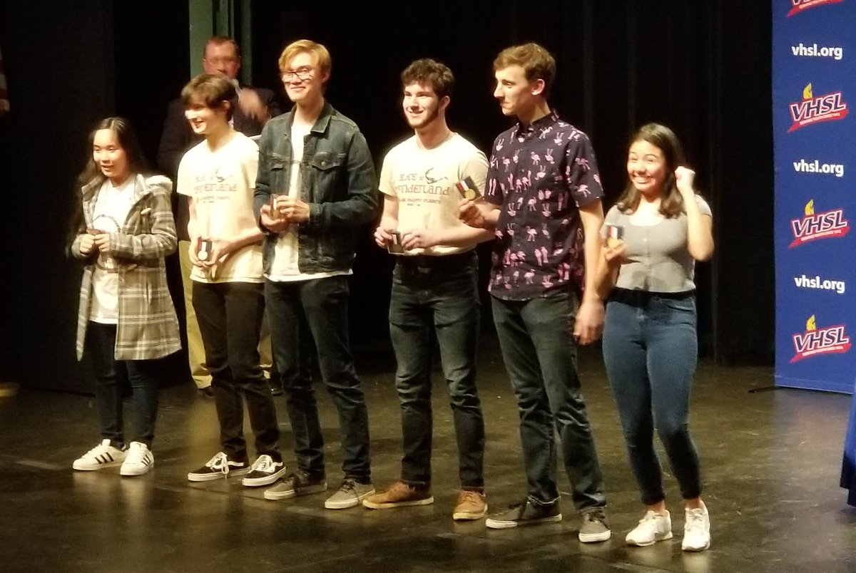 Congratulations to Samantha Rios - Best Actor at State VHSL One-Act Festival for Runaways. Wakefield places 3rd at State! <a target='_blank' href='https://t.co/N5JmaEPpSa'>https://t.co/N5JmaEPpSa</a>
