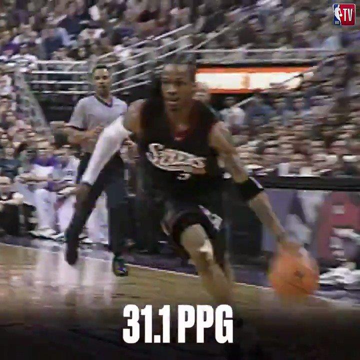 Allen Iverson's 2000-01 MVP season was simply incredible. 🔥  #MVPMondays