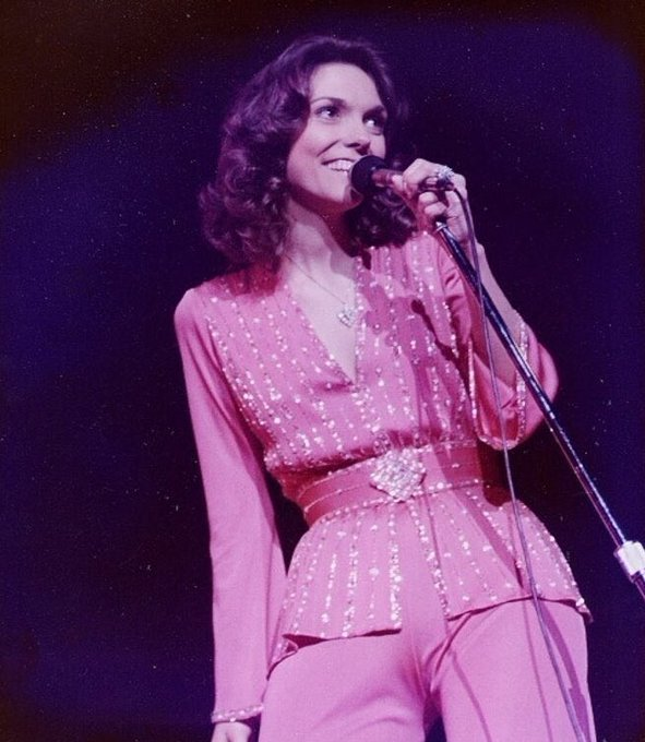 Happy late birthday to my mother, Karen Carpenter