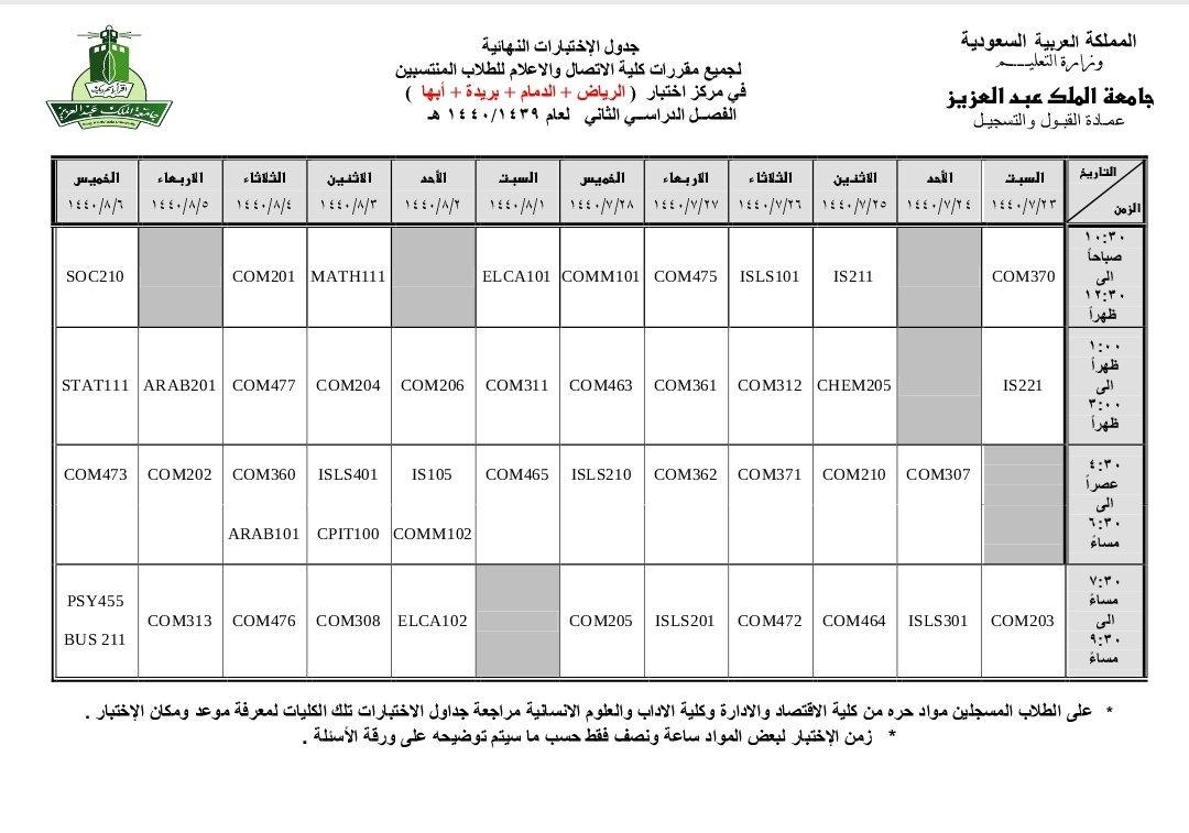 مجموعة صور لل كلية الاعلام جامعة الملك عبدالعزيز انتساب