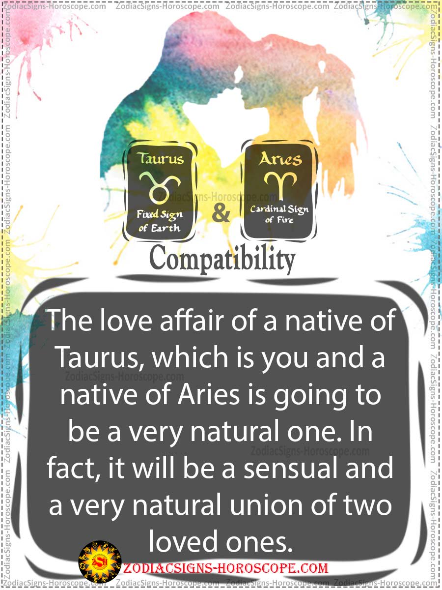 ZSHoroscope ♉️💕♈️ Is Taurus and Aries a good love match