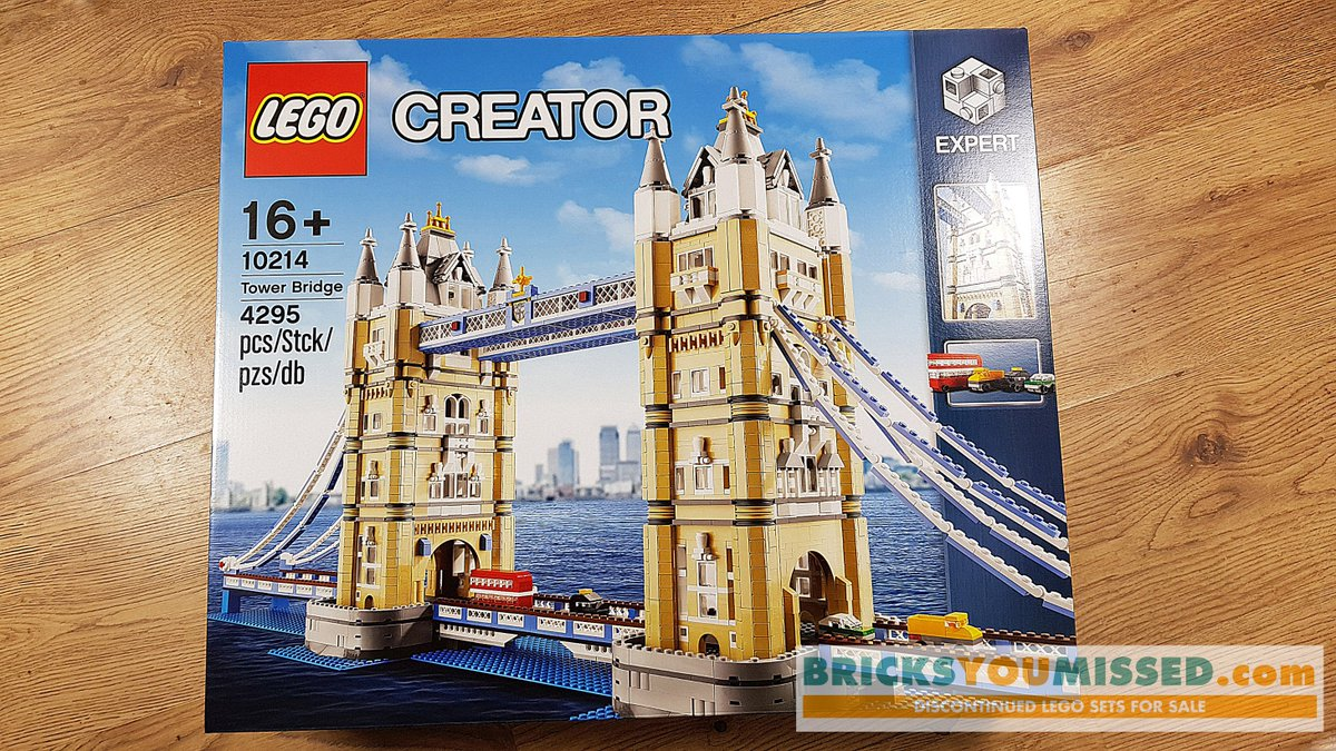 LEGO Creator Tower Bridge Brand New Factory Sealed 10214