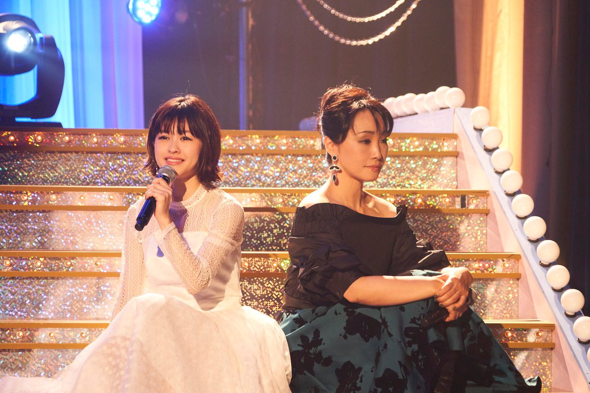 グリブラ 第23話歌コーナーの思い出濱田めぐみ さんと 昆夏美 さんの『ウィキッド』から「あなたを忘