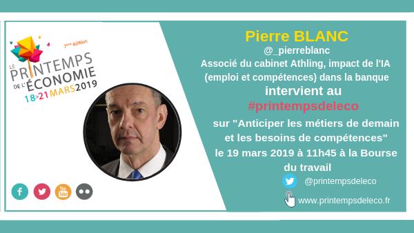 Très heureux de participer à cette conférence avec @Strategie_Gouv  ▶️ Il sera question de #travail #emploi #futureofwork  ✅ #IAamonboss #askPiB