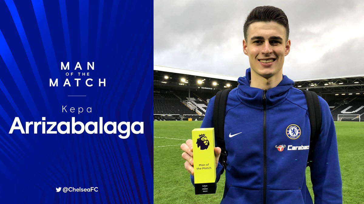 An excellent performance from @Kepa_46!