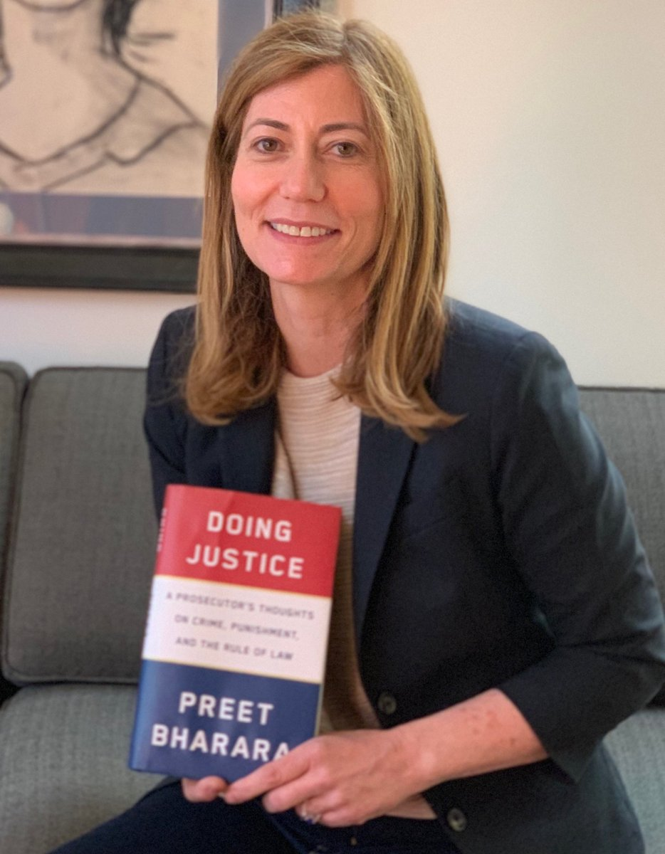Hot off the press! What an amazing, and important book. It's a must-read. Congratulations ⁦@PreetBharara⁩