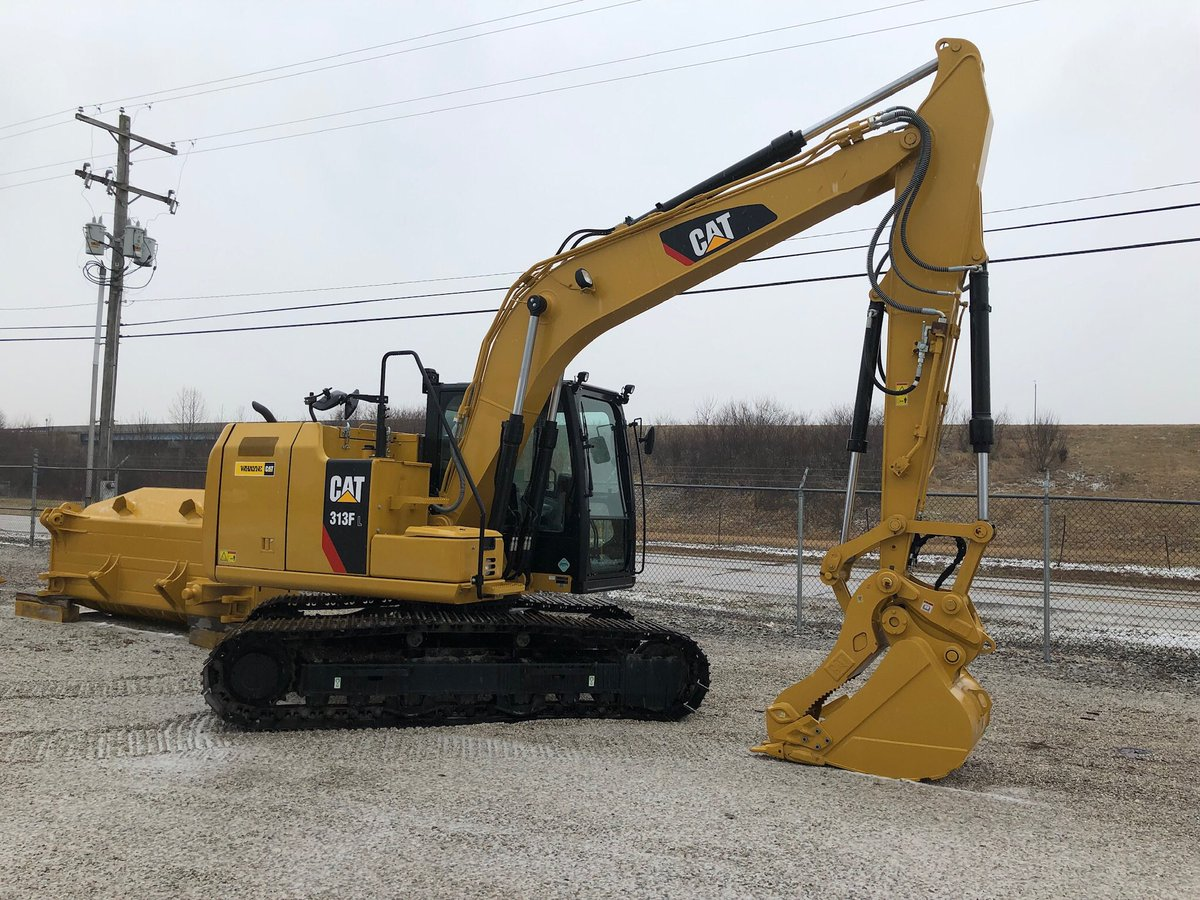 For sale.  Cat 313F loaded up and ready   Call Me for more info.   #cat #excavator #313F.