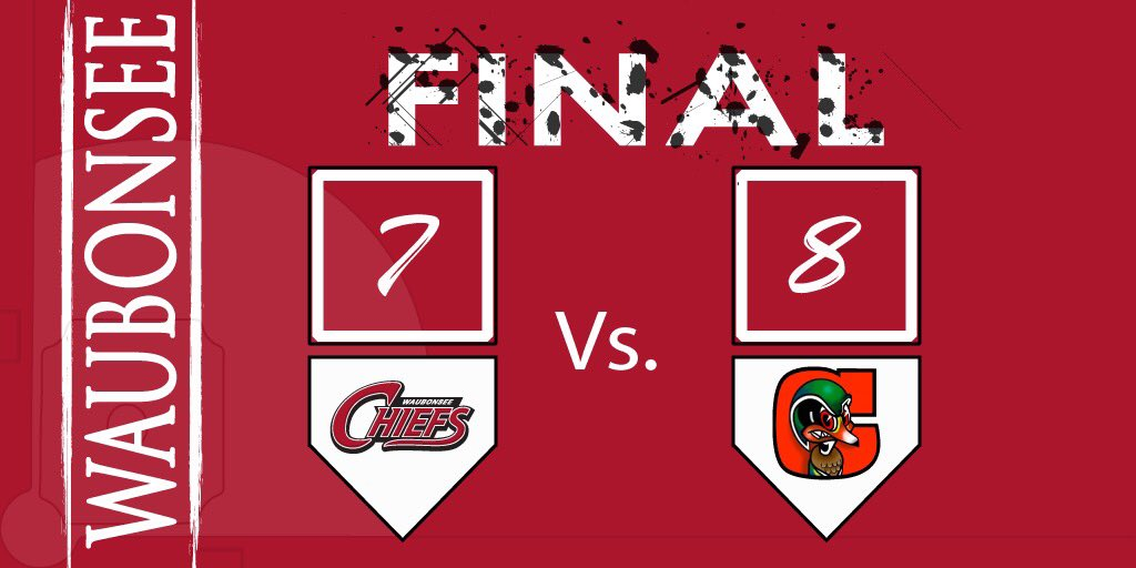 RT @B_Unger34: Chiefs can't close out Century.  Back in action tomorrow Vs. Hudson Valley. #GoChiefs #1Team https://t.co/IQ0lcFKGRs