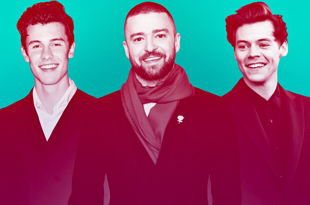 From @ShawnMendes to @Harry_Styles, here are the most stylish guys in pop 😍 https://blbrd.cm/Dppnon