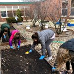 Image for the Tweet beginning: Student Council had green thumbs